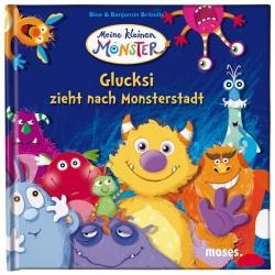 Glucksi zieht nach Monsterstadt Bilderbuch