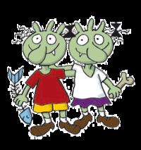 Olchi Kinder von Erhard Dietl - Muffelfurz und Schleimeschlamm