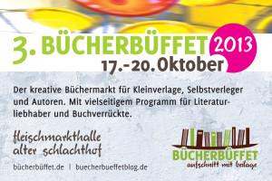 Buchmesse für Kleinverlage: das Bücherbüffet