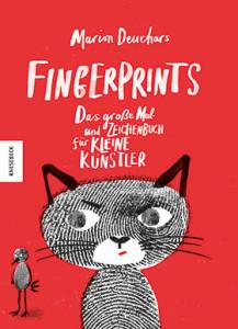 """Vom Fingerabdruck zum Bild """"Fingerprints - Das große Mal- und Bastelbuch"""""""