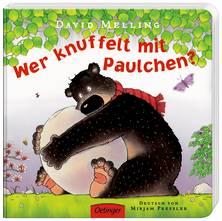 """David Melling """"Wer knuffelt mit Paulchen"""" Papp-Bilderbuch"""