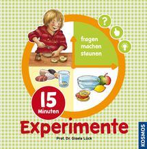 Sachbuch Experimente für Vorschulkinder