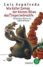 Tierbuch - Wie Kater Zorbas der kleinen Möwe das Fliegen beibrachte