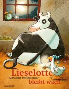 Die Kuh Lieselotte bleibt wach - Bilderbuch