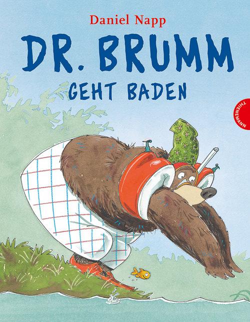 Bilderbuch Dr. Brumm geht baden - Der Zornickel im See