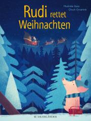 Bilderbuch Schwein Rudi rettet Weihnachten