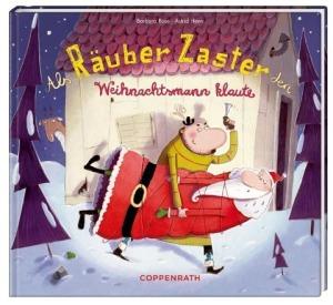 Bilderbuch Räuber Zaster klaut den Weihnachtsmann