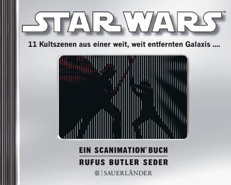 Scanimation Bilderbuch - 11 Kultszenen aus Star Wars - bewegliche Bilder