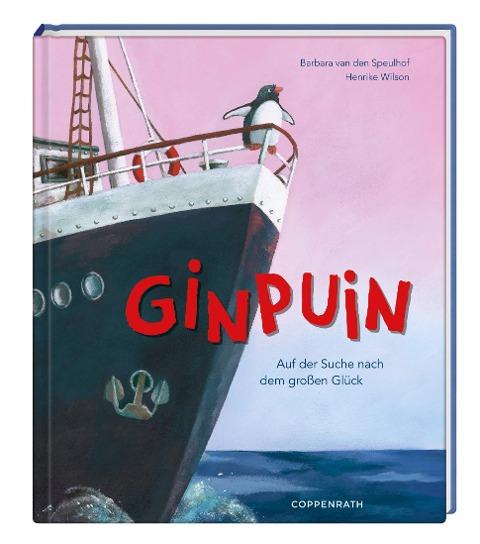 Bilderbuch Der Ginpuin Auf der Suche nach dem großen Glück