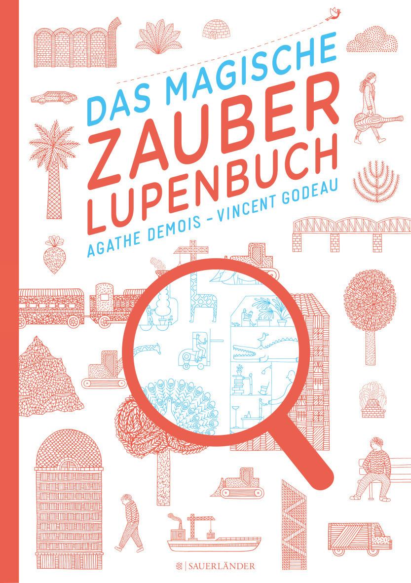 Bilderbuch mit Zauberlupe