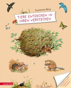 Kindersachbuch Tiere entdecken in ihren verstecken