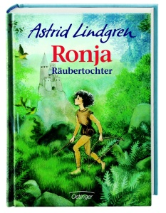Kinderbuch Ronja Räubertochter von Astrid Lindgren