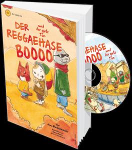 Reggaehase Boooo Buch und CD