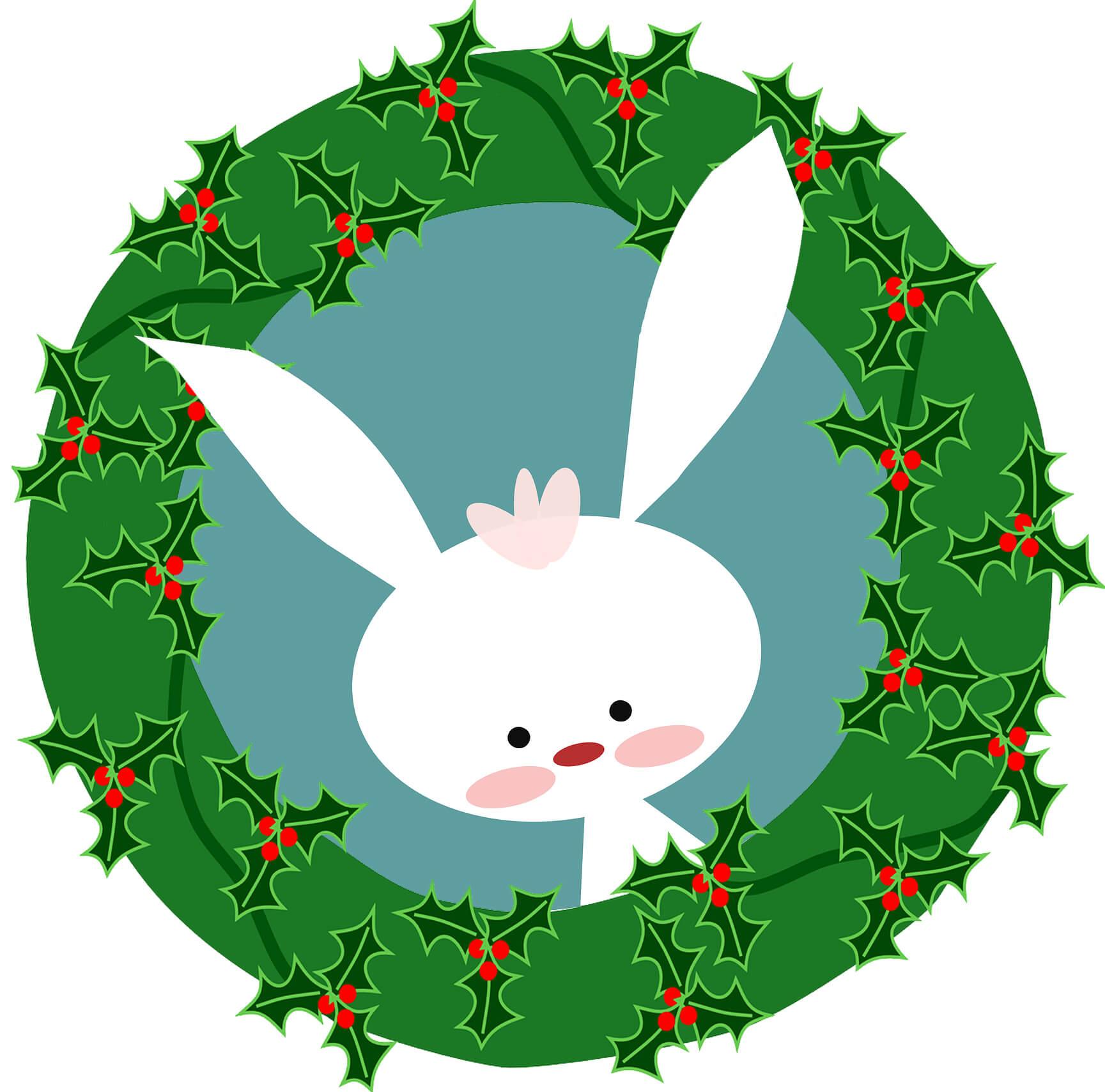 Was macht der Osterhase an Weihnachten?