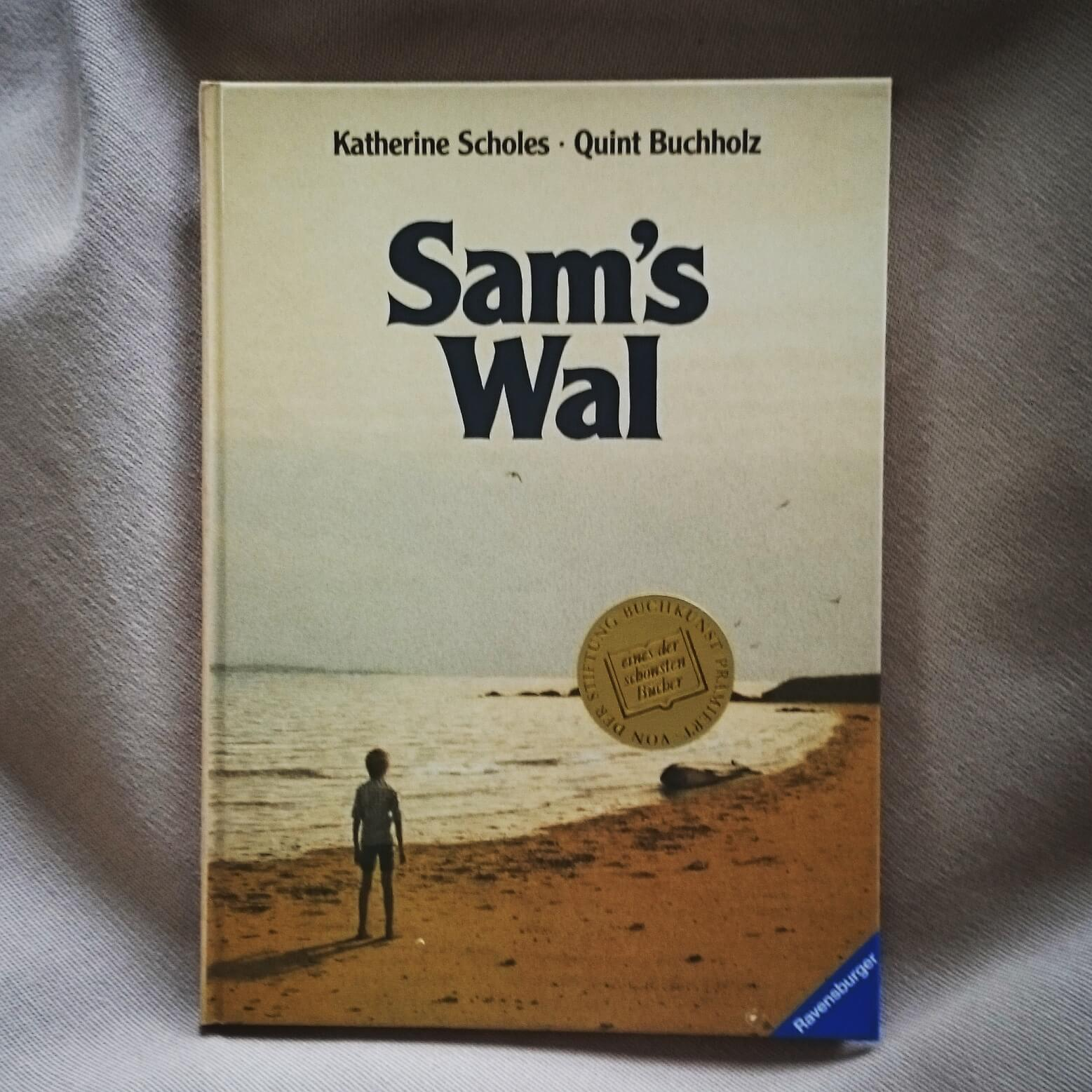 Kinderbuch Sams Wal - meine alte Ausgabe
