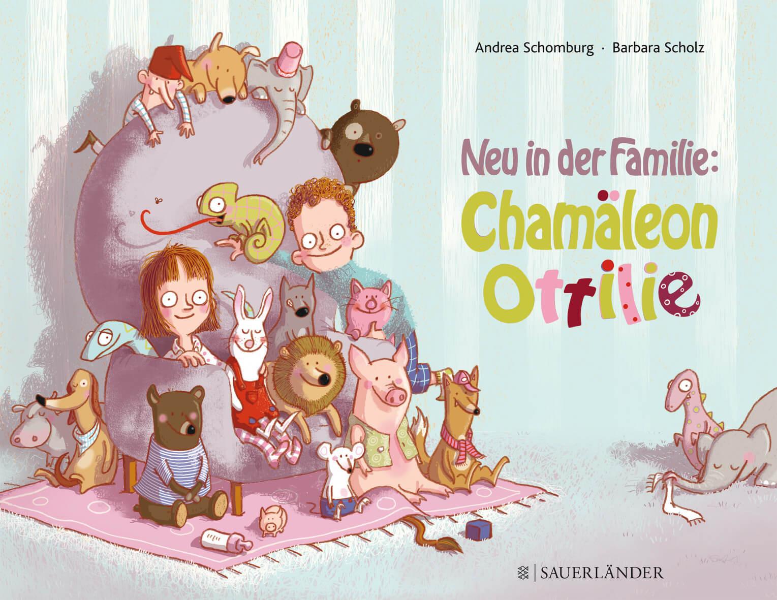 Bilderbuch Haustier Chamaeleon Ottilie
