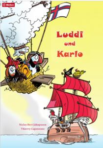 Luddi und Karlo. Kinderbuch über zwei ungleiche Papageientaucher