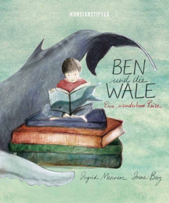 Ben und die Wale. Bilderbuch zum Thema Tod und Trauer aus dem Kusntanstifter Verlag Mannheim