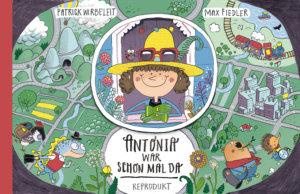 Bilderbuch einer Weltreise: Antonia war schon mal da. Reprodukt Kindercomic