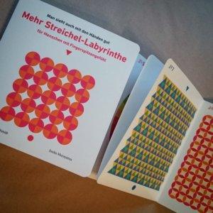 Bilderbuch Streichel Labyrinthe