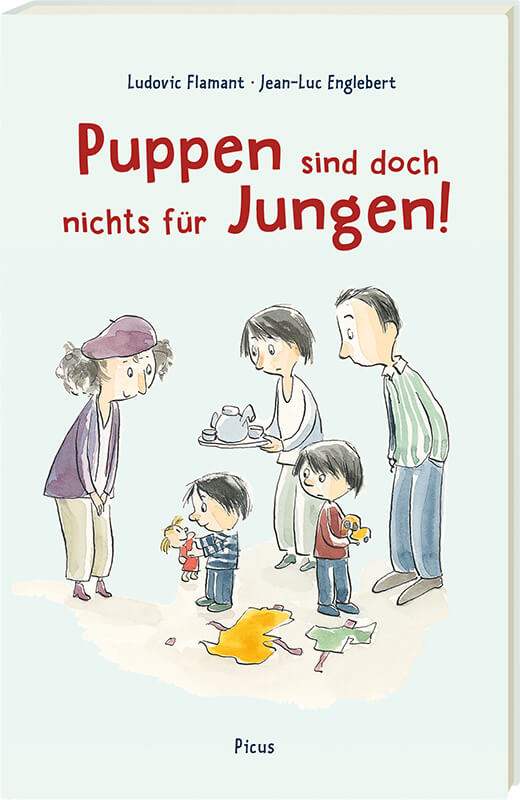 Bilderbuch - Puppen sind doch nichts für Jungen