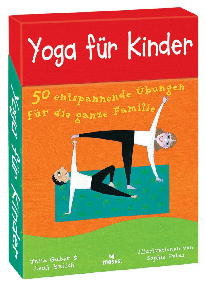 Yoga für Kinder - Kartenset mit Übungen und Spielen