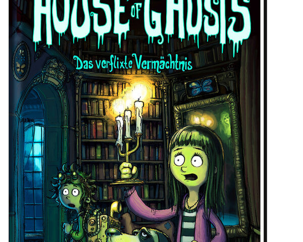 Kinderbuch House of Ghosts Band 1