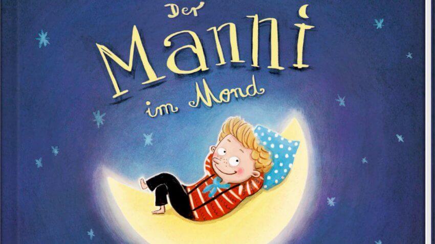 Kai Lüftner & Astrid Henn: Manni im Mond. Bilderbuch. Ein Astronaut fliegt zum Mond.