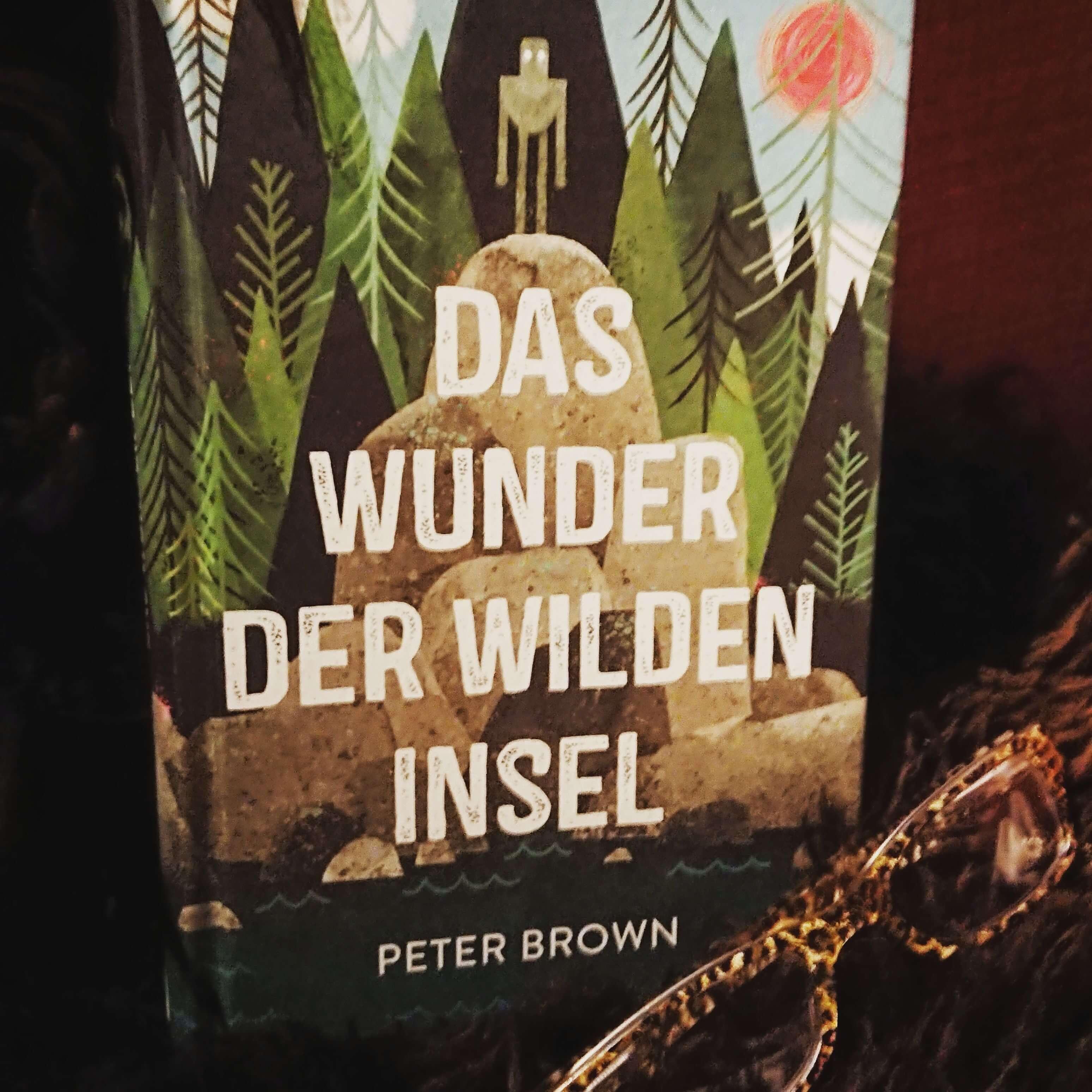 Kinderbuch Wunder der wilden Insel - auf meiner Couch mit Lesebrille