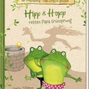 Kinderbuch: Die Frosch-Geschwister Hipp und Hopp retten den Froschkönig Papa Grünsprung