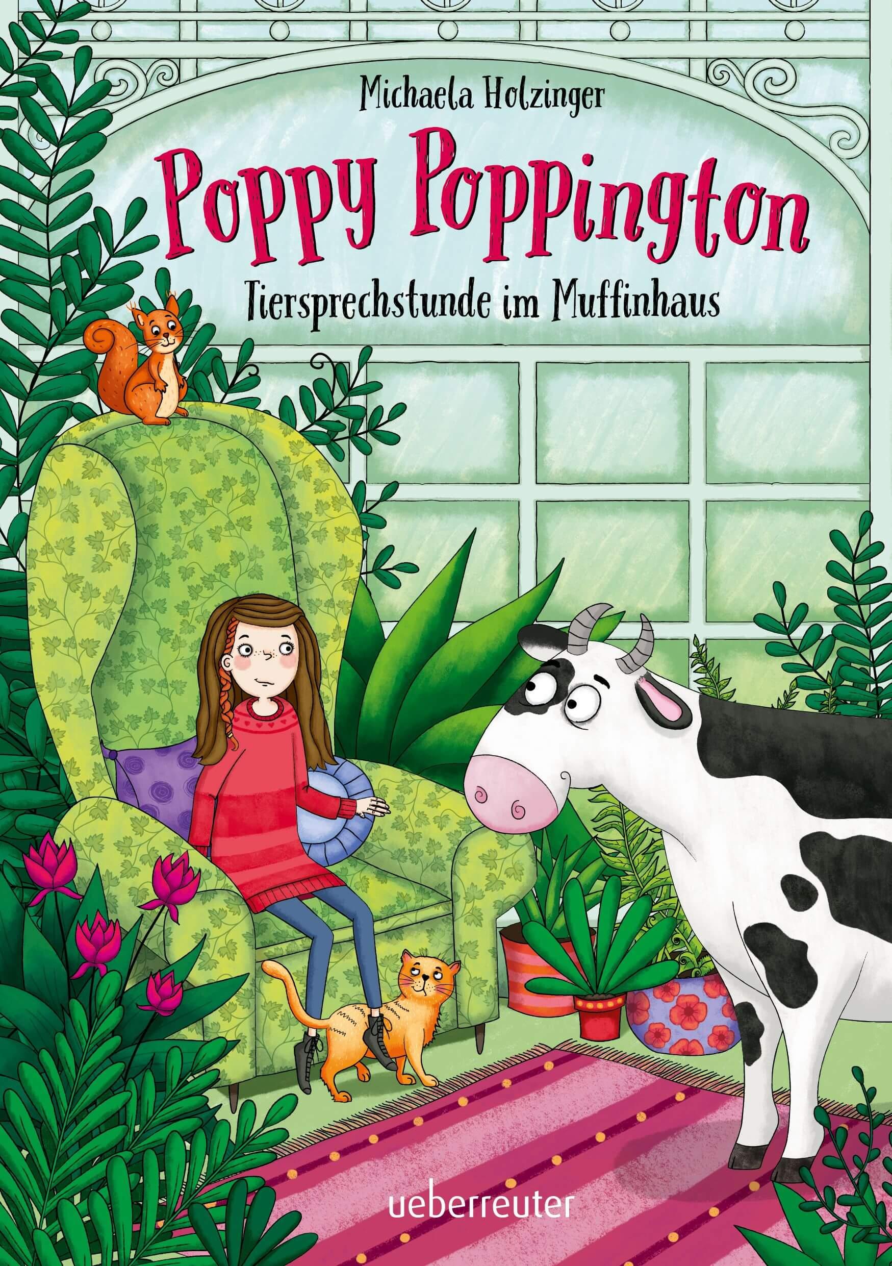 Poppy Poppington – Tiersprechstunde im Muffinhaus. Kinderbuch ab 9 Jahren