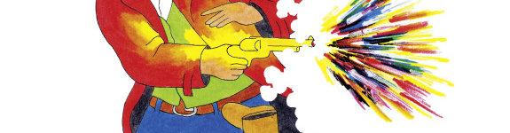 Western für Kinder: Der Bandit mit dem goldenen Colt