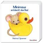 Pappbilderbuch Minimaus entdeckt das Bad