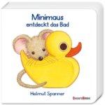 Minimaus entdeckt das Bad – und das Baby entdeckt die Welt