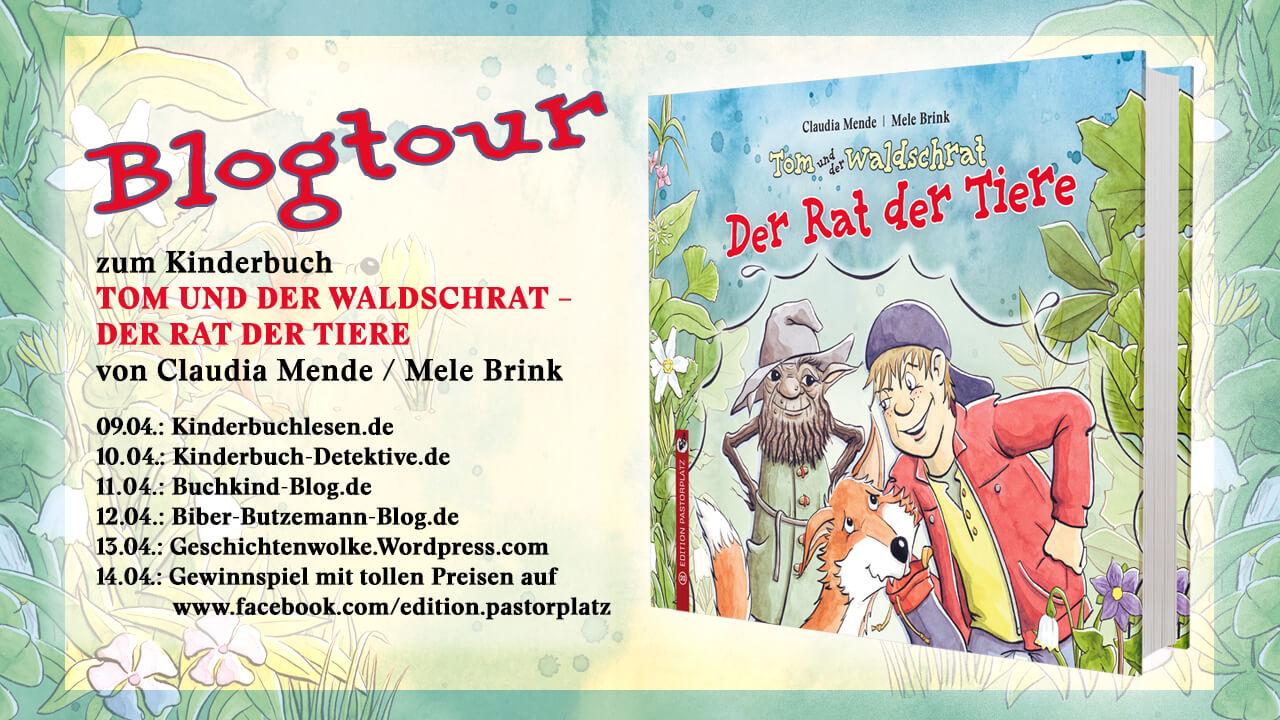 Blogtour zu dem Kinderbuch Tom und der Wladschrat - alle Teilnehmer