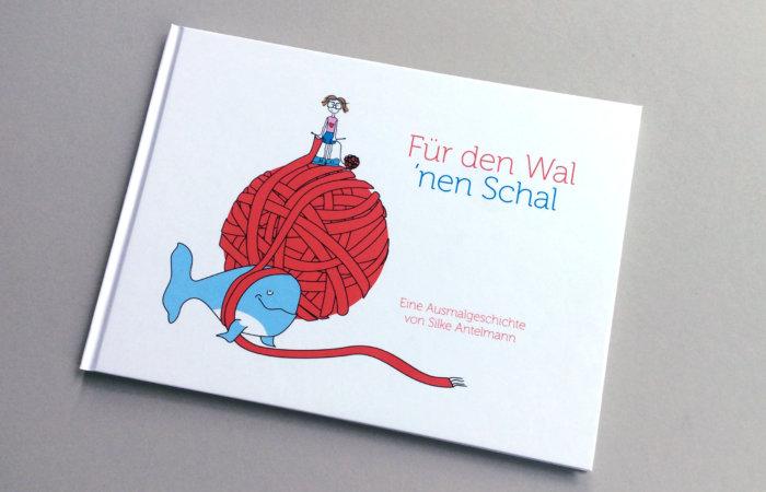 Bilderbuch über Tierliebe, Stricken und ein eigensinniges, empathisches Mädchen: Für den Wal 'nen Schal