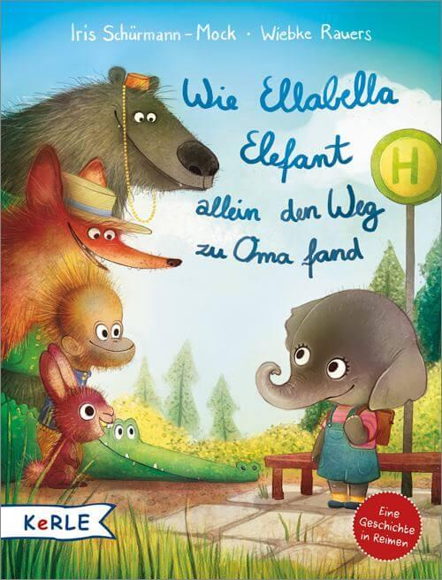 Umwege und unerwartete Ereignisse sind nicht das Gleiche wie Verlaufen. Bilderbuch: Wie Ellabella Elefant allein den Weg zu Oma fand.