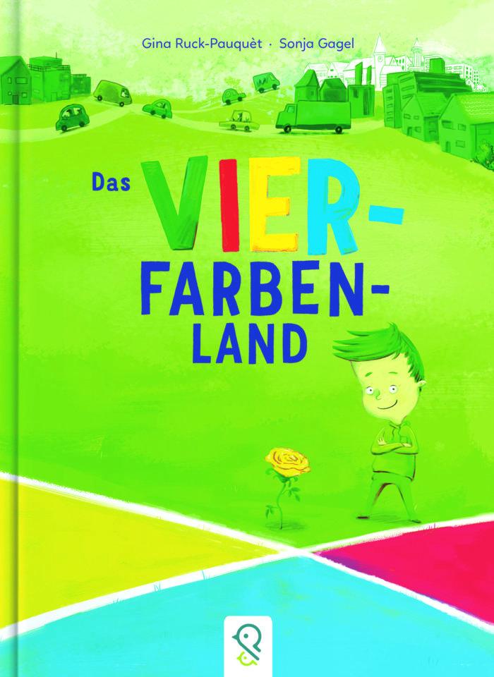 Bilderbuch Vier Farben Land