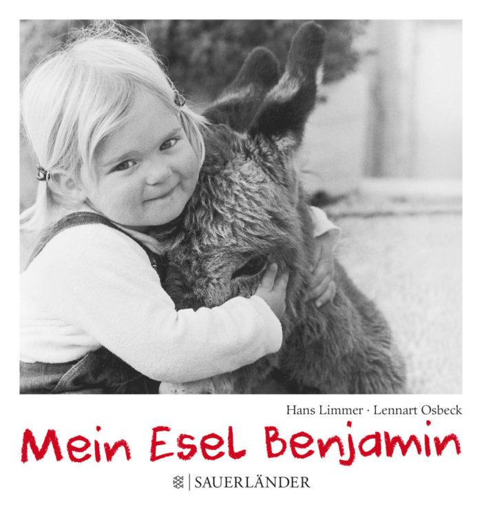 Bilderbuch aus meiner Kindheit mit Schwarz-Weiß-Fotos: Mein kleiner Esel Benjamin