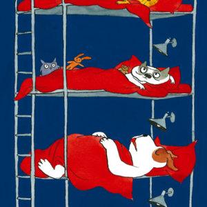 Pappbilderbuch mit der Hundebande: Schläfst Du?