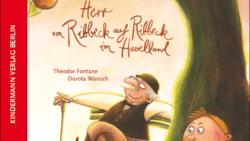 Bilderbuch und Vorlesebuch: Herr von Ribbeck auf Ribbeck im Havelland. Das Gedicht von Fontane illustriert von Dorotha Wünsch. Erschienen im Kindermann Verlagg in der Reihe Poesie für Kinder.