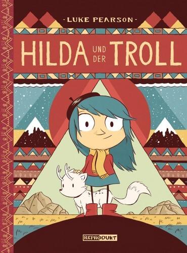 Luke Pearson - Hilda und der Troll. Kindercomic.