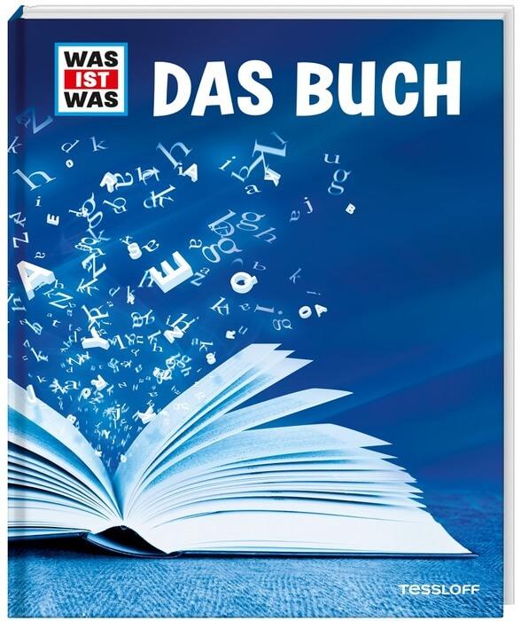 Was ist Was: Das Buch. Das Cover zeigt ein aufgeschlagenes Buch.