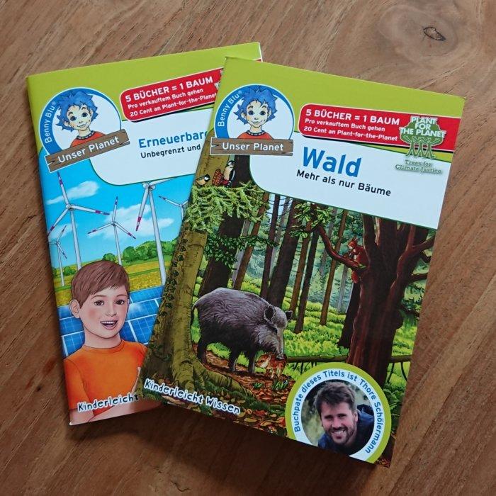 Benny Blu - Unser Planet. Kindersachbücher im Mini-Format.