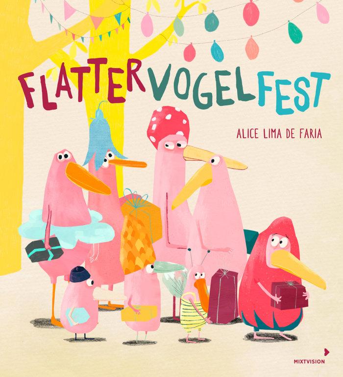 Ein wunderbar schräges Bilderbuch von Alice Lima de Faria über wahre Freundschaft und den Wunsch, dazuzugehören!