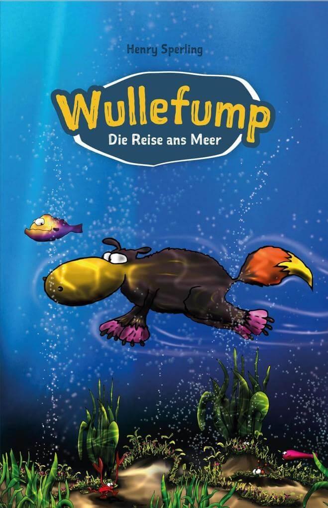 Ist es ein Elch, ein Fuchs, ein Fisch? Ist es ein Seeungeheuer? Nein! Es ist WULLEFUMP! Kinderbuch-Tipp.