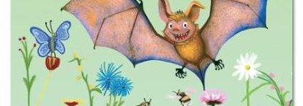 Sandor- Der geheime Schwarm. Im neuen Band der Kinderbuch-Serie finden Jendrik und seine Freunde heraus, warum Fledermäuse immer weniger Nahrung finden.