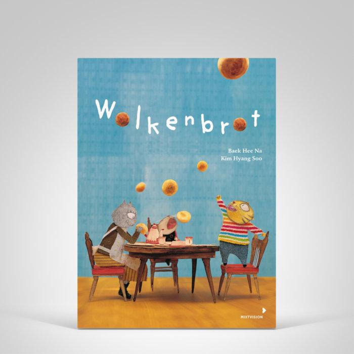 Wolkenbrot - Bilderbuch. Ein Regentag, eine eingesammelte Wolke, zwei Geschwister und die Gewissheit, dass manchmal in Dingen mehr steckt, als man denkt.
