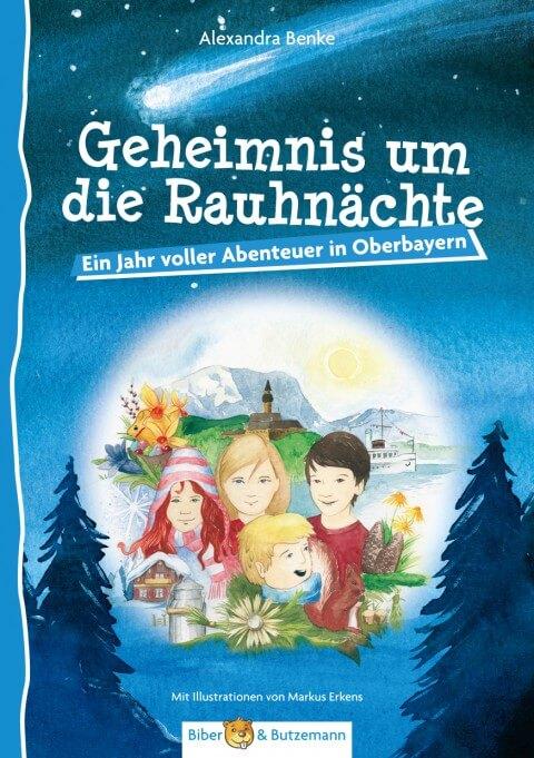 Das  Ferienhaus  in  Oberbayern ist für die Geschwister Tim und Rosalie ein magischer Ort. Egal zu welcher Jahreszeit sie mit ihren Eltern an den Ammersee fahren – das nächste Abenteuer scheint bereits auf sie zu warten. Kinderbuch.
