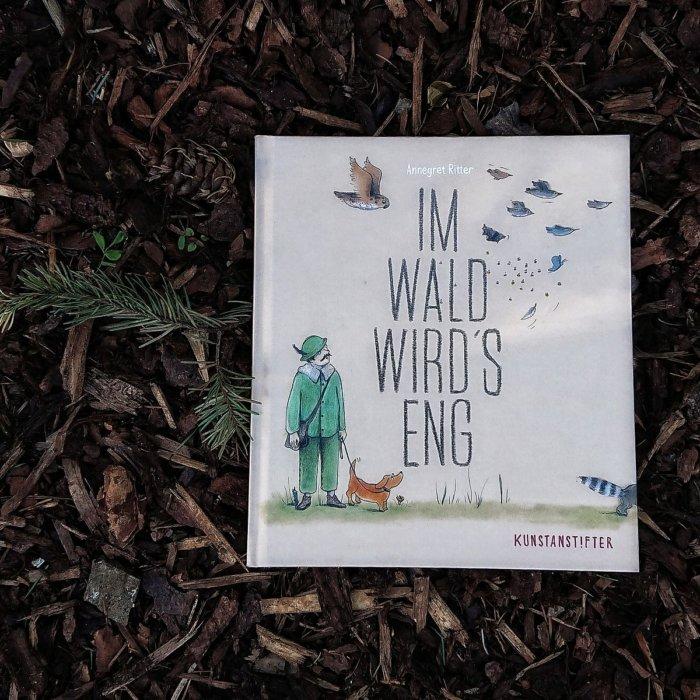 Bilderbuch von Annegret Ritter Im Wald wird's eng: Waldtiere in der Stadt